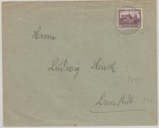 Nr.: 478 als EF auf Ortsbrief innerhalb Lamstedt