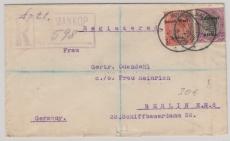 Süd- West Afrika, 1925, netter E.- Brief mit MiF nach Berlin