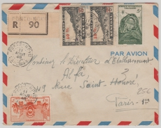 Senegal, 1948, Netter E.- Brief in MiF, nach Paris