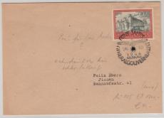 GG Nr.: 65 als EF auf Fernbrief von Krakau nach Plauen