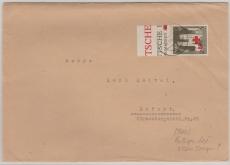 GG Nr.: 55 auf Fernbrief von Tschenstochau (?) nach Erfurt