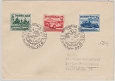 695- 97 auf Satzbrief vom Nürburgringrennen nach Berlin