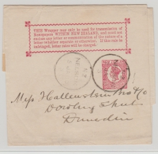 New Zealand, 1900, Streifband- GS