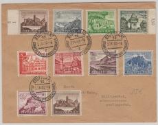 730- 738 in MiF auf Satz- Ortsbrief, innerhalb Stuttgarts