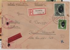 799B u.a. auf Eilboten- Einschreiben- Auslandsbrief von Starnberg nach Zürich, Befund Schlegel echt ...