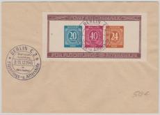 Bl. 12 B, gestempelt auf Umschlag, ungelaufen