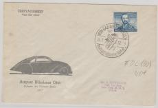 Nr.: 150 als EF auf Auslandsbrief FDC! Von Bad Reichenhall nach New York (USA)