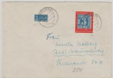 Nr.: 114 als EF auf Fernbrief von Kleinheubach nach Braunschweig