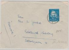 Nr.: 161 als EF auf Fernbrief von Solingen nach Feldkirch