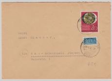 Nr.: 142 als EF auf Fernbrief von Hettensen nach Bad Reichenhall