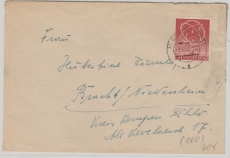 Nr.: 71, als EF auf Fernbrief von Berlin nach Bracht (?)