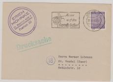 VL. SBZ Nr.: 117 als EF auf Drucksache von Berlin nach St. Wendel