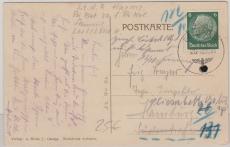 Feldpost von der Sudetenlandbesetzung, vom 10.10.1938, auf Postkarte nach Hamburg