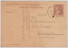Dt. Feldpost, auf Polnischer 15 Grozy- GS, als Formblatt, nach Berlin, vom 10.9.1939