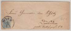 Österreich, ca. 1850, 9 Kreuzer EF auf Brief von Wien nach Drobdau (?)