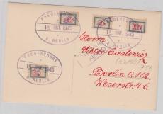 Fredersdorf Sp. 101- 103, + Sp. 109b auf Karte