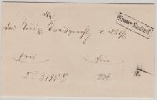 Preussen, ca. 1830, Franco Stadtbrief innerhalb Berlins