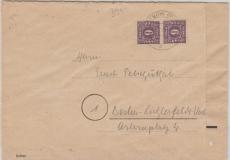 9c, MeF auf Brief von Teterow nach Berlin, tiefgeprüft Kramp BPP