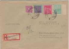 39 ya u.a. in MiF auf E. Brief von Neubrandenburg nach Fürstenau, geprüft Kramp BPP