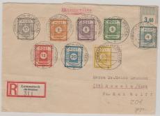 53 -60 zusammen auf Satz- E.- Brief von Lommatzsch nach Rossla, gepr. Ströh BPP