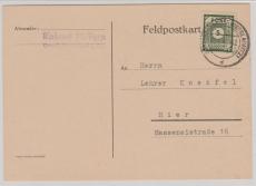 57 b, auf  Orts-Karte innerhalb Grossröhrsdorf, Befund Kunz echt und einwandfrei