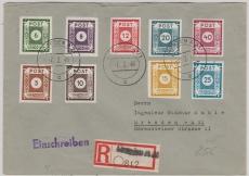 42- 50A, zusammen auf E.- Satzbrief innerhalb Dresdens