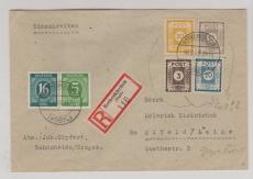 51, 53, 54 + 55 (mit Privatzähnung) u.a. auf E.- Brief von Rothenkirchen nach Alfeld, gepr. Zierer BPP