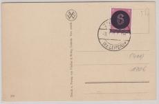AI, gestempelt Z...., Bez. Leipzig, auf Postkarte ohne Anschrift und Text