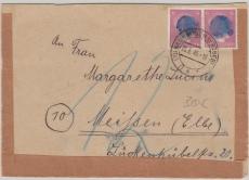 AP 785 in MeF auf Brief von Neuhausen nach Meißen