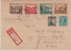 112- 15 u.a. auf Satz- E. Fernbrief von Orlamünde nach Berlin