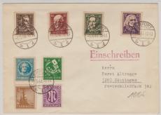 107- 111 B, u.a. auf Satz- E. Fernbrief von Erfurt nach Göttingen