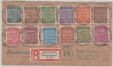 73- 84, Satz- E.- Fernbrief von Domersleben nach Magdeburg