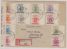 138- 49, E.- Satbrief von Leipzig nach Göttingen, mit Zensur