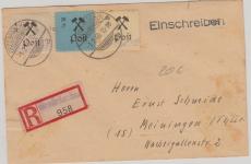 Grossräschen Nr. 14, 20 + 22 Zusammen auf E.- Brief
