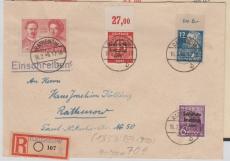 183 b u.a. in MiF auf E.- Ortsbrief innerhalb Rathenows, Befund Paul BPP