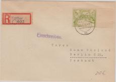 Cottbus Nr.: 19 als EF auf E.- Brief nach Berlin