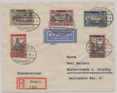 231- 35, Satz- Fernbrief- Lupo- Einschreiben von Danzig nach Wiederitsch