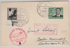 DR 537- 8, in MiF zur Deutschlandfahrt 1937, auf Brief via Köln nach Berlin