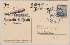 DR 606, als EF zur Deutschlandfahrt 1936, nach Lorch