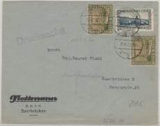 84 (2x) + 111 als MiF auf Ortsdrucksache innerhalb Saarbrückens