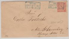 Nr.: 3 als EF auf Brief von Berlin nach Alt- Schöneberg (bei Berlin, damals ;))