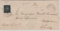 Nr.: 3 als EF auf Brief von Schlochau nach Cönitz