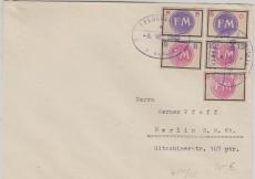 Fredersdorf Nrn.: Sp. 231- 35 auf Satzbrief