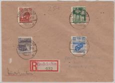 Grossräschen 43 - 46 auf E.- Brief nach Berlin