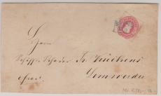 Nr.: 17 in EF, verwendet auf Briefvorderseite von Berne nach Lemwerden!