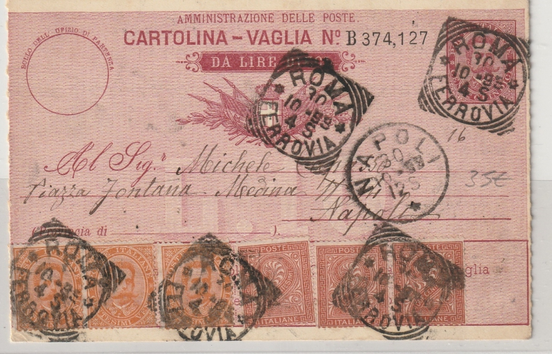 Postkarte Von Italien Nach Deutschland