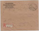 325 B (20x) als MeF auf Einschreiben- Fernbrief von Bad Oeyenhausen nach Braunschweig, vom 19.11.1923, geprüft!