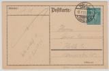 245 als EF auf Orts- Postkarte von innerhalb Halles, Marke geprüft Inla Berlin