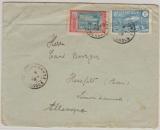 Cameroun, 1928, netter Bedarfsbrief in MiF, nach Hesfeld