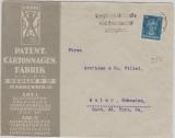 393 als EF auf Auslandsbrief von Berlin nach Malmö (Schweden)
